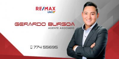 Gerardo Burgoa RE/MAX UNO - agente portada
