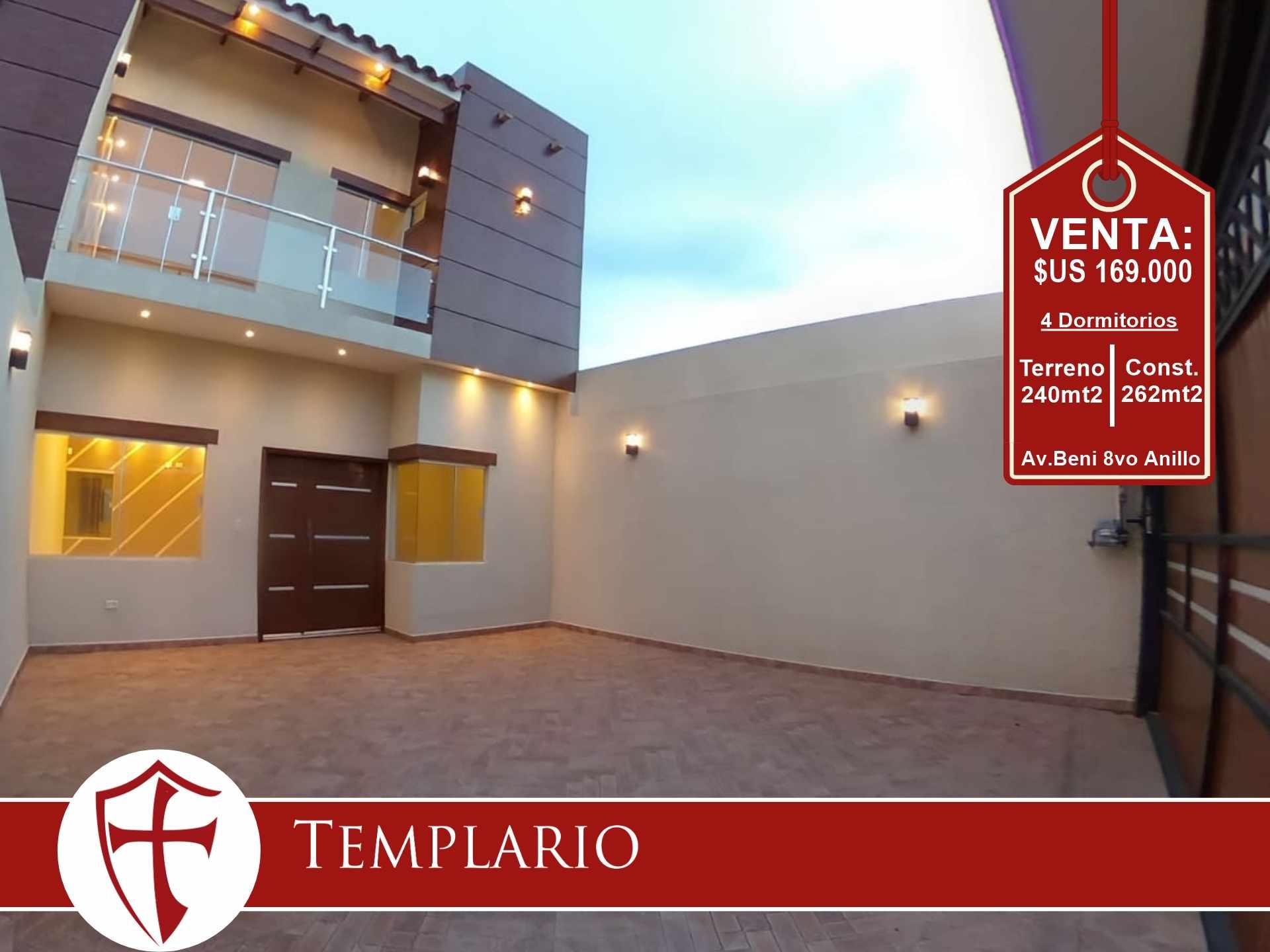 Casa en Venta Av. Beni 8vo Anillo - Zona Norte Foto 16