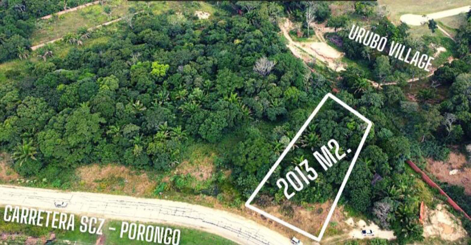 Terreno en Venta Terreno sobre Carretera Santa Cruz - Porongo  Foto 1