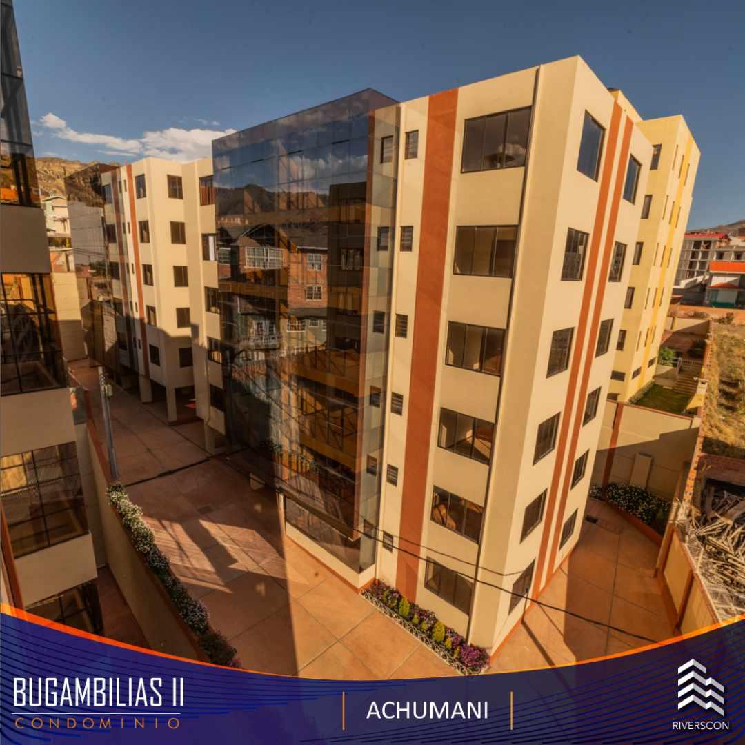 Departamento en Anticretico Achumani, calle 29 (Av. Javier del Granado) Nro. 99 Condominio Bugambilias II del centro comercial La Suiza a dos cuadras. Foto 1